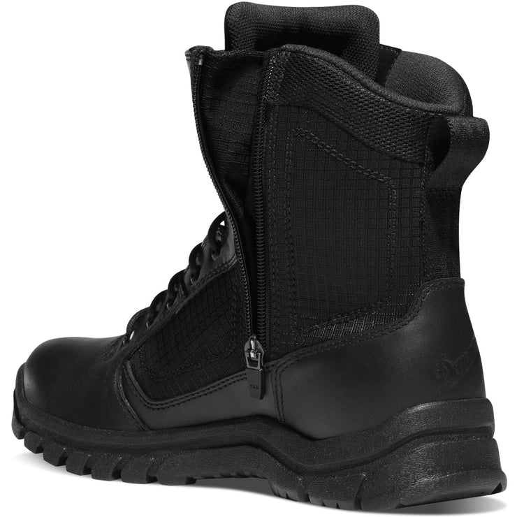 "Danner Lookout Side-Zip 8"" Black - Baker's Boots and Clothing"