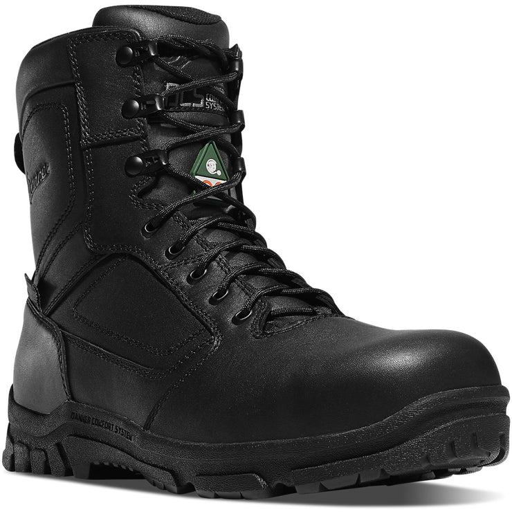 "Danner Lookout EMS/CSA Side-Zip 8"" Black NMT - Baker's Boots and Clothing"