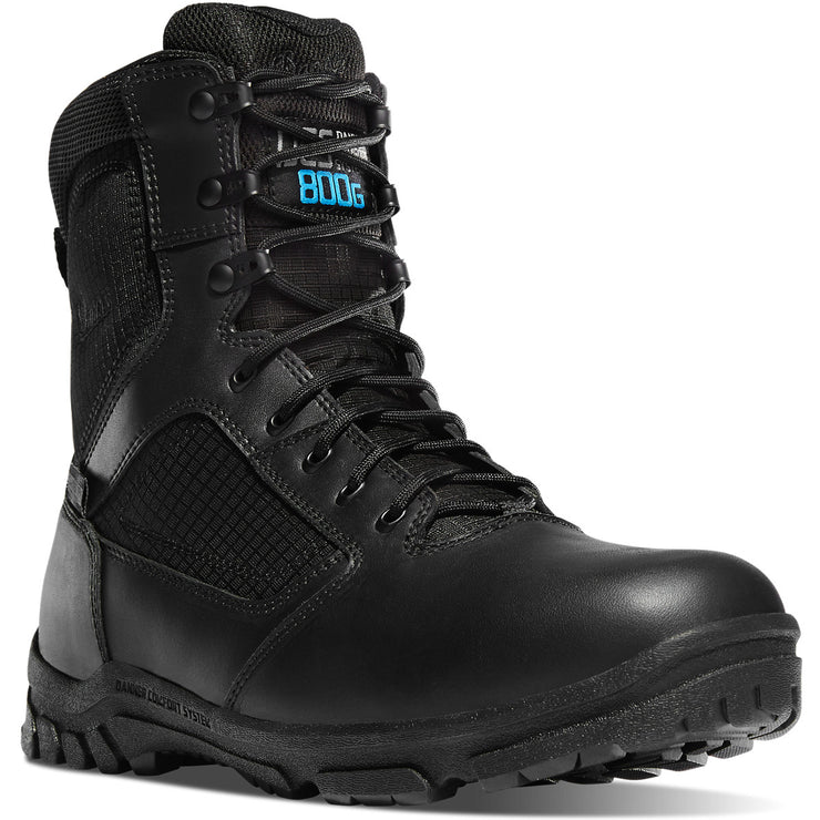 "Danner Lookout 8"" Black 800G - Baker's Boots and Clothing"