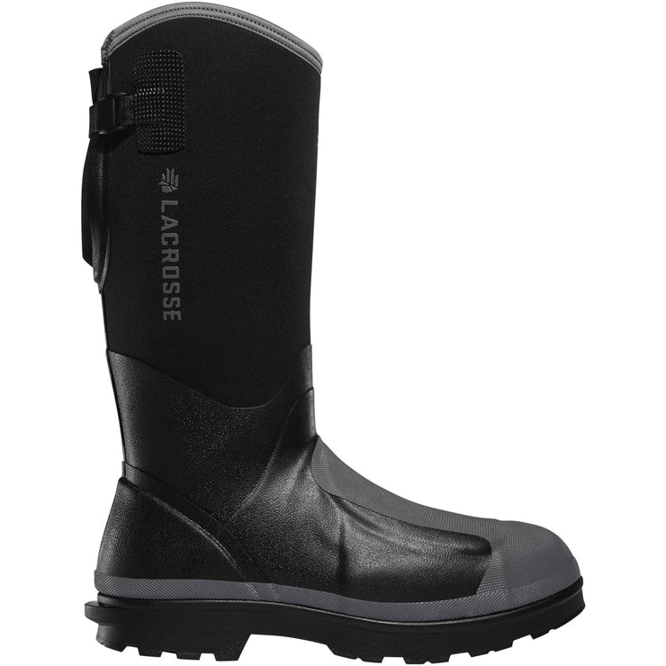 "LaCrosse Alpha Range 14"" Black 5.0MM MET/PR/NMT - Baker's Boots and Clothing"