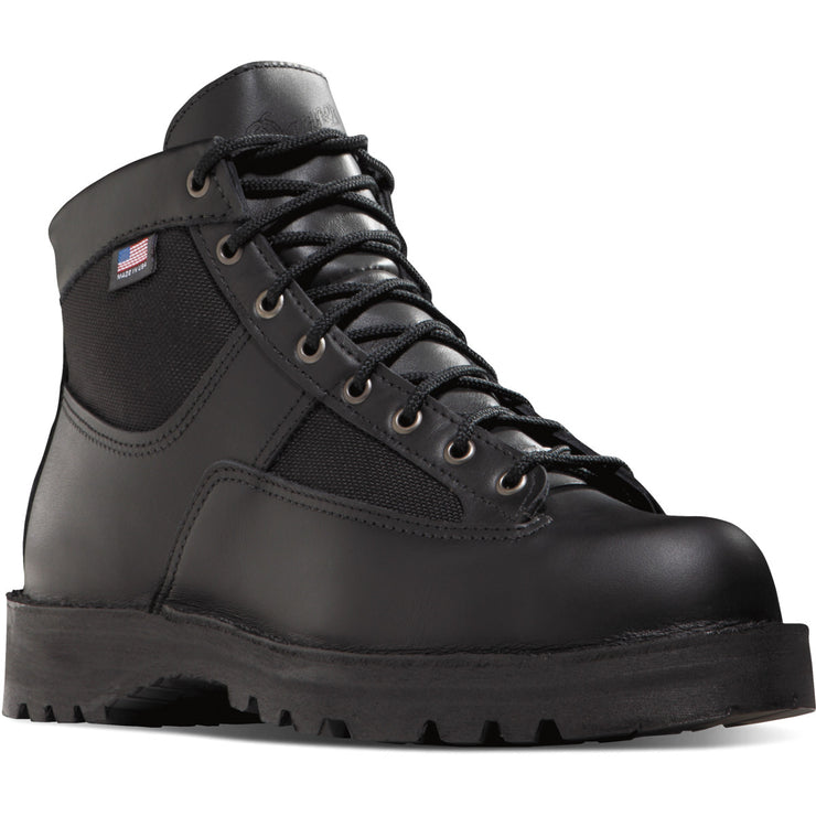 "Danner Women's Patrol 6"" Black - Baker's Boots and Clothing"