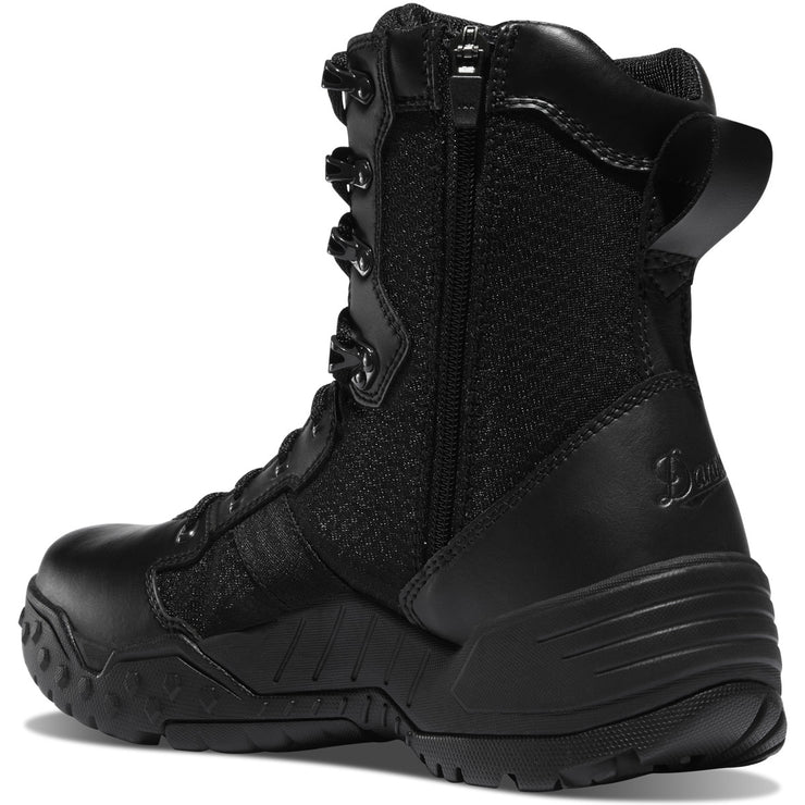"Danner Scorch Side-Zip 8"" Black Hot - Baker's Boots and Clothing"
