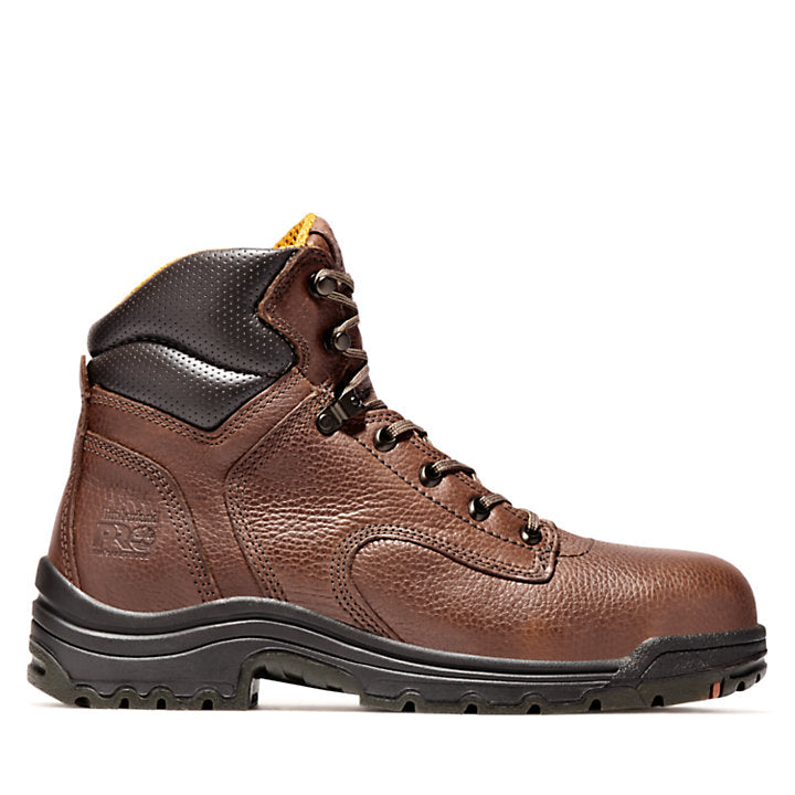 Men's TiTAN ¨ 6 Inch Safety Toe Lace-To-Toe Boot By Timberland Pro - Baker's Boots and Clothing