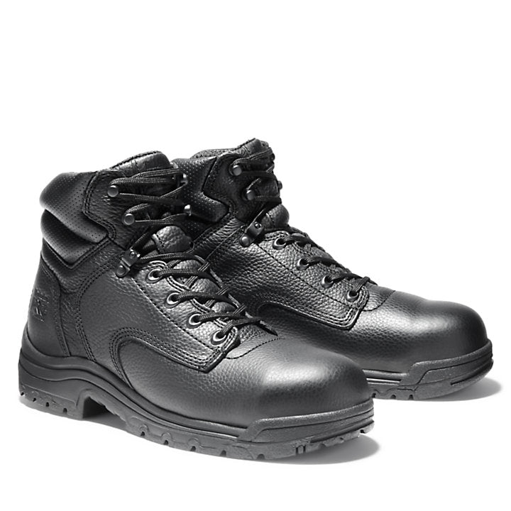 Men's Black TiTAN¨ 6 Inch Safety Toe Workboot By Timberland Pro - Baker's Boots and Clothing