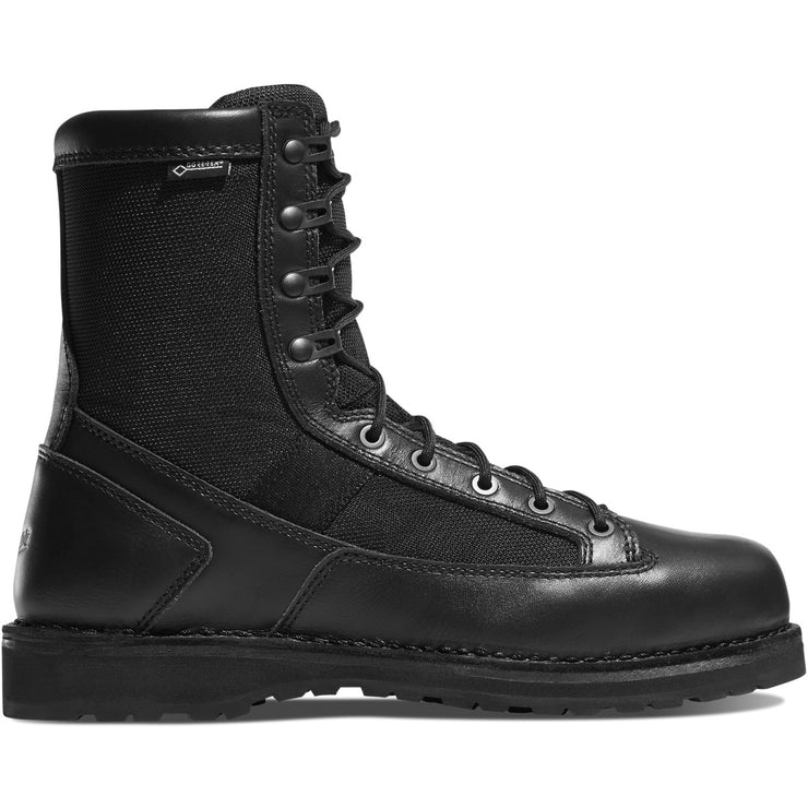 "Danner Stalwart Side-Zip 8"" Black - Baker's Boots and Clothing"