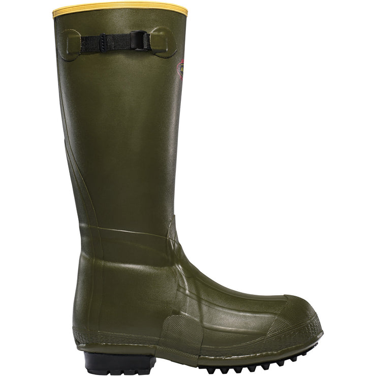 "LaCrosse Burly Air Grip 18"" OD Green - Baker's Boots and Clothing"