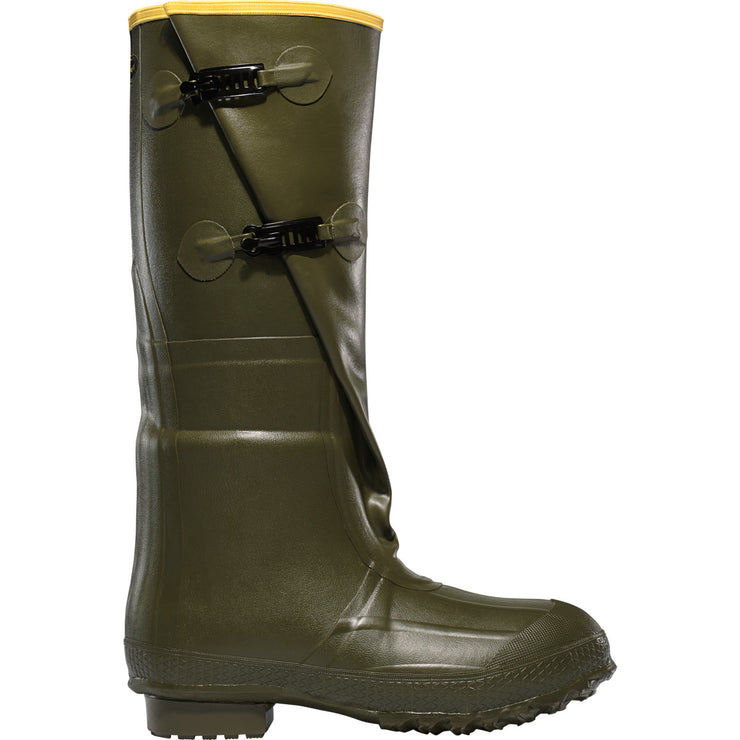 "LaCrosse Insulated 2-Buckle 18"" OD Green - Baker's Boots and Clothing"