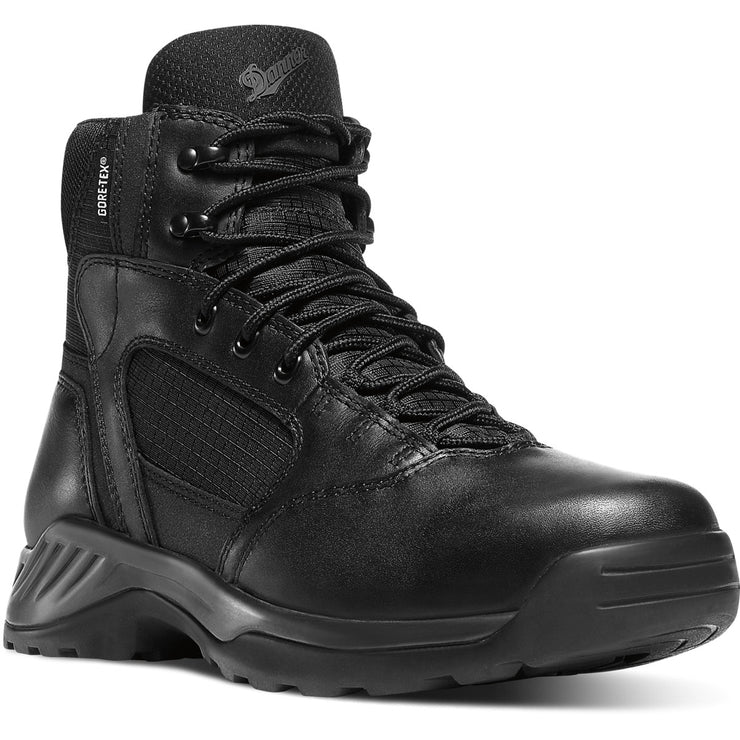 "Danner Women's Kinetic 6"" Black GTX - Baker's Boots and Clothing"