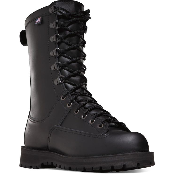 "Women's Danner Fort Lewis 10"" Black - Baker's Boots and Clothing"