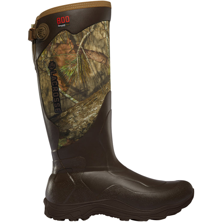 "LaCrosse Alpha Agility 17"" Mossy Oak Break-Up Country 800G - Baker's Boots and Clothing"