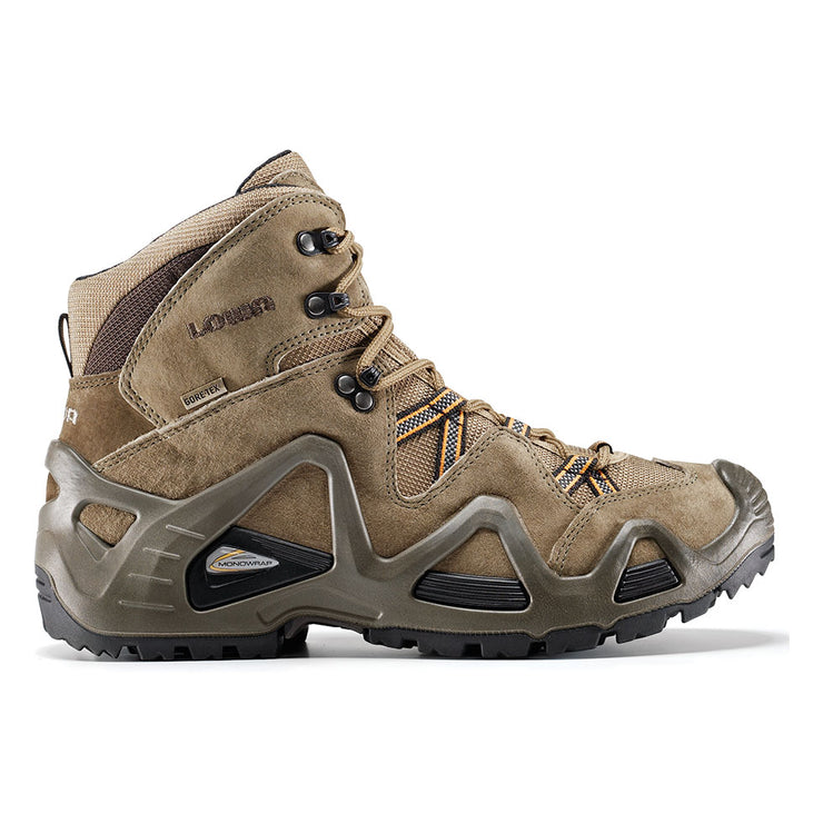 Lowa Zephyr GTX Mid TF - Beige/Brown - Baker's Boots and Clothing