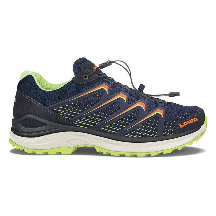 Lowa Maddox GTX Lo - Navy/Lime - Baker's Boots and Clothing