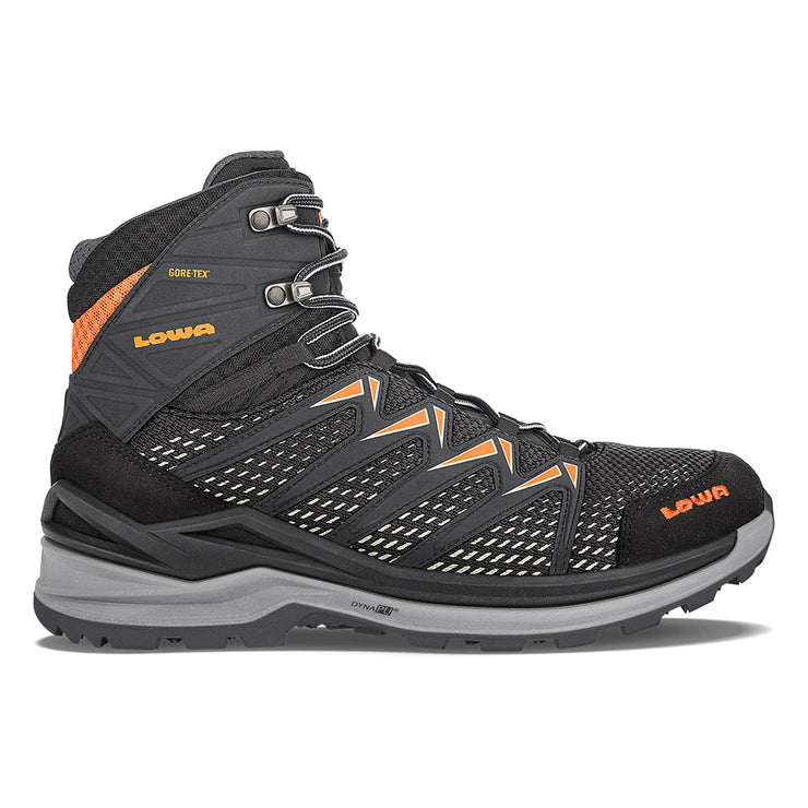Lowa Innox Pro GTX Mid - Black/Orange - Baker's Boots and Clothing