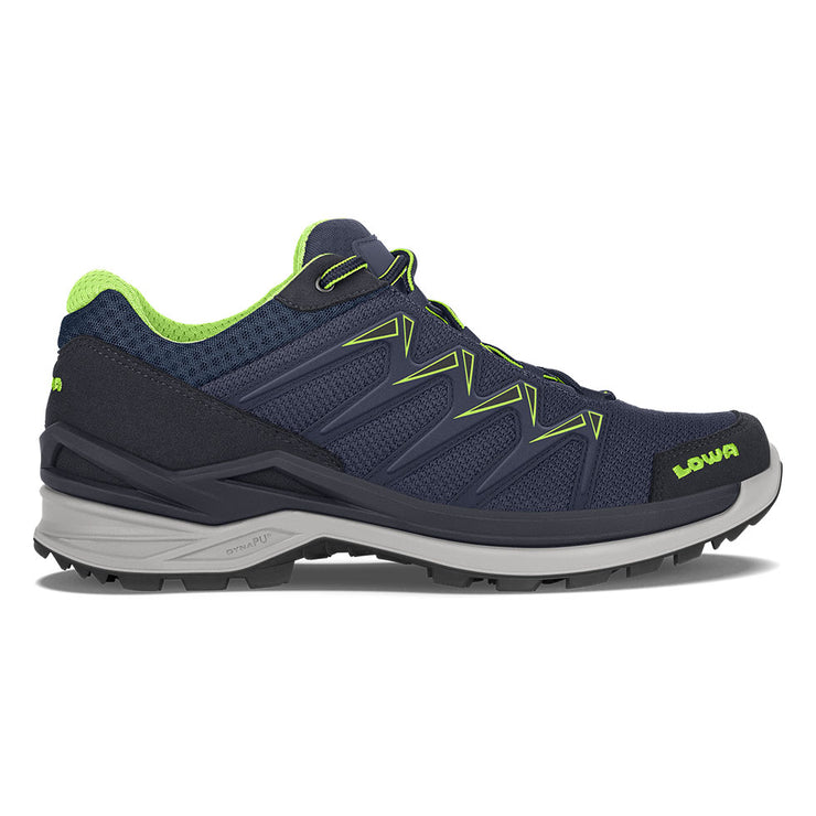Lowa Innox Pro GTX Lo - Navy/Lime - Baker's Boots and Clothing