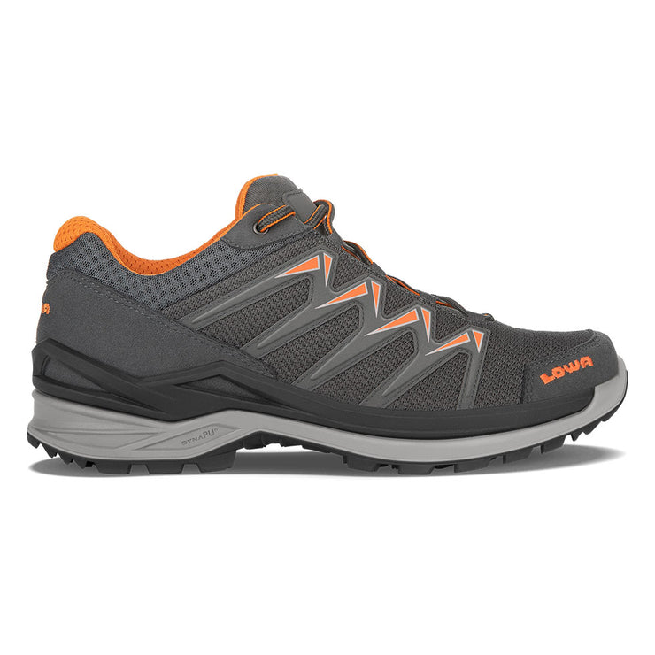 Lowa Innox Pro GTX Lo - Graphite/Orange - Baker's Boots and Clothing
