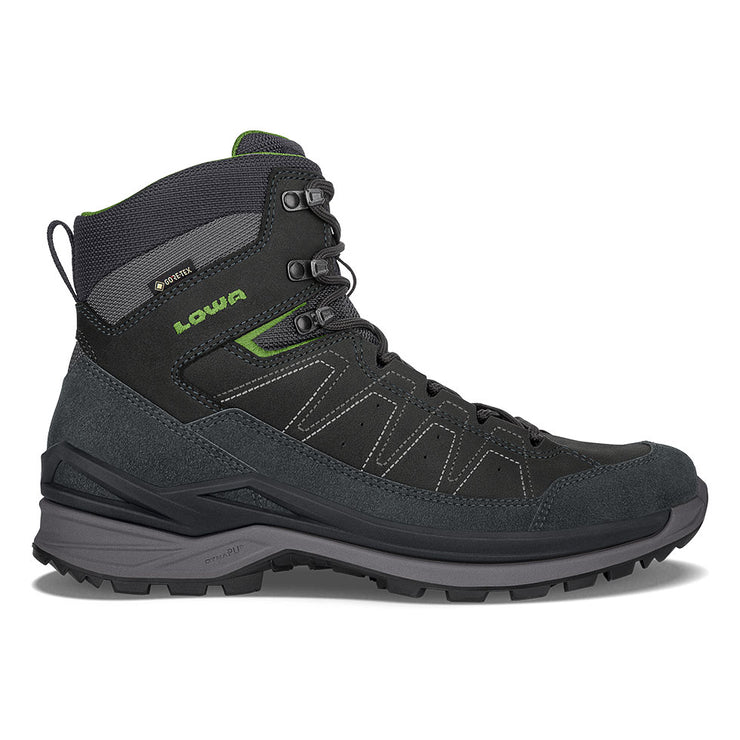 Lowa Toro Evo GTX Mid - Dark Gray/Green - Baker's Boots and Clothing