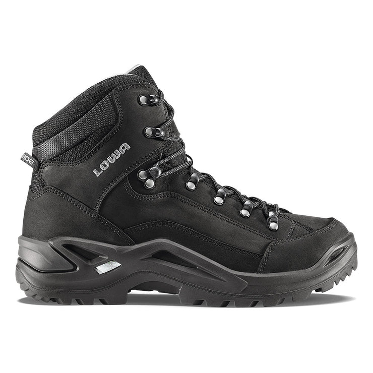 Lowa Renegade LL Mid - Black - Baker's Boots and Clothing