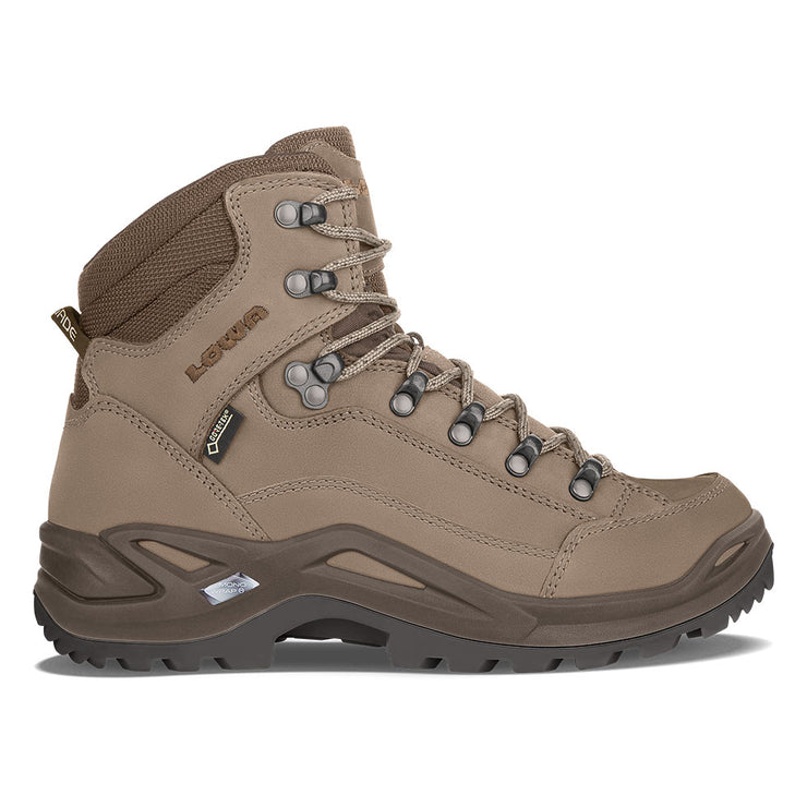 Lowa Renegade GTX Mid - Stone/Espresso - Baker's Boots and Clothing