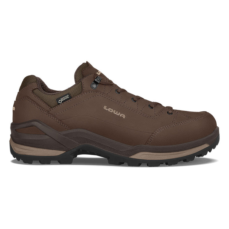 Lowa Renegade GTX Lo - Espresso/Beige - Baker's Boots and Clothing