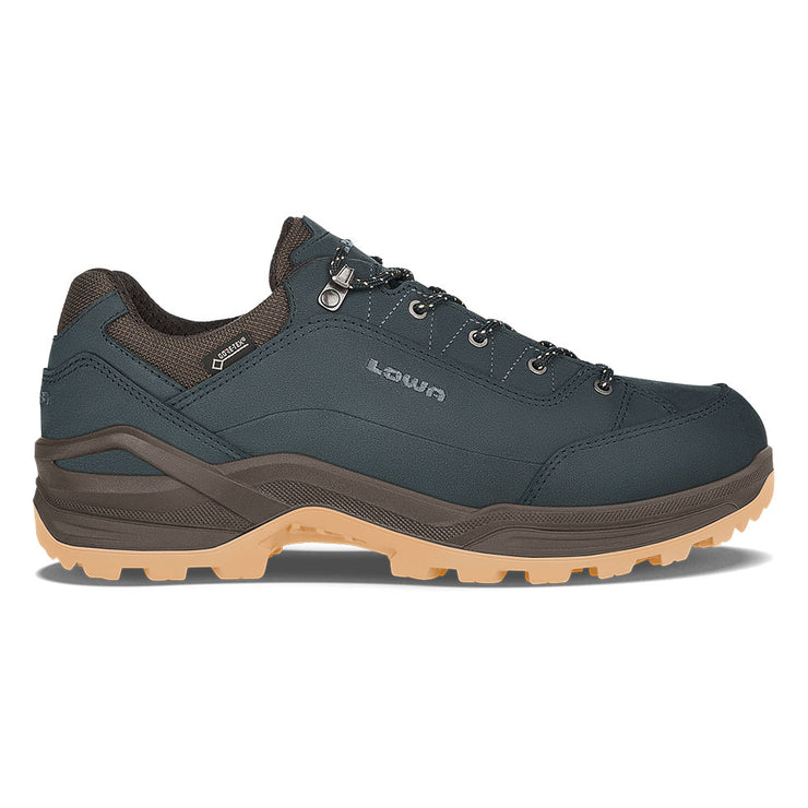 Lowa Renegade GTX Lo - Navy/Honey - Baker's Boots and Clothing