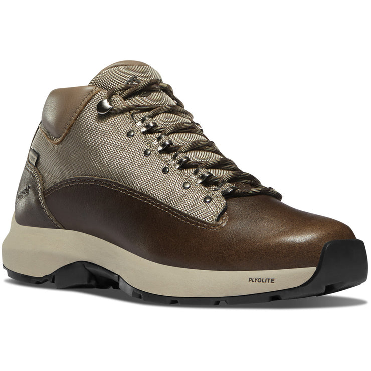 Danner Women's Caprine EVO Chocolate/Taupe Danner Dry - Baker's Boots and Clothing