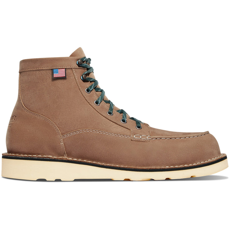 Danner Bull Run Lux Burro Brown - Baker's Boots and Clothing