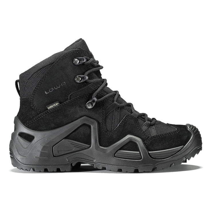 Lowa Zephyr GTX Mid TF Women's- Black/Black - Baker's Boots and Clothing