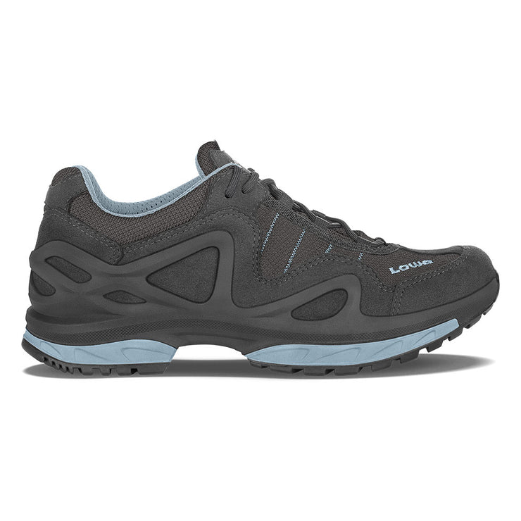 Lowa Gorgon GTX Women's- Anthracite & Ice Blue - Baker's Boots and Clothing