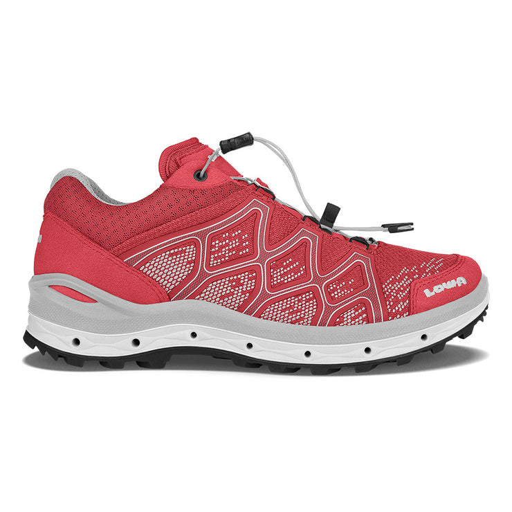 Lowa Aerox GTX Lo Surround Women's- Rasberry - Baker's Boots and Clothing