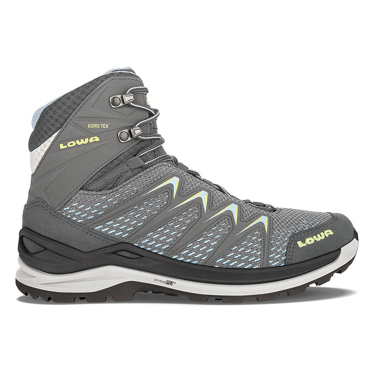 Lowa Innox Pro GTX Mid Women's- Graphite/Mint - Baker's Boots and Clothing