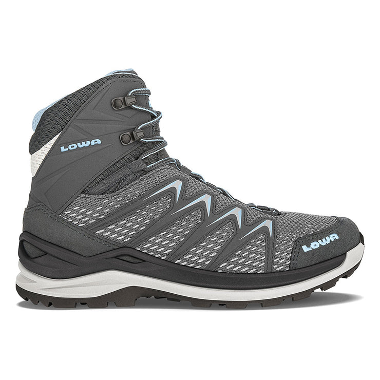 Lowa Innox Pro Mid Women's- Graphite/Ice Blue - Baker's Boots and Clothing