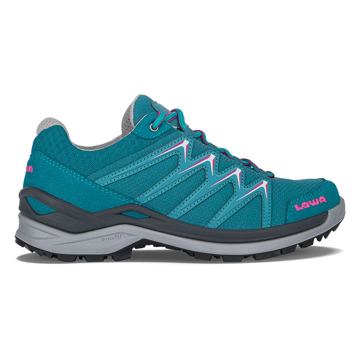 Lowa Innox Pro GTX Lo Women's- Turquoise/Pink - Baker's Boots and Clothing