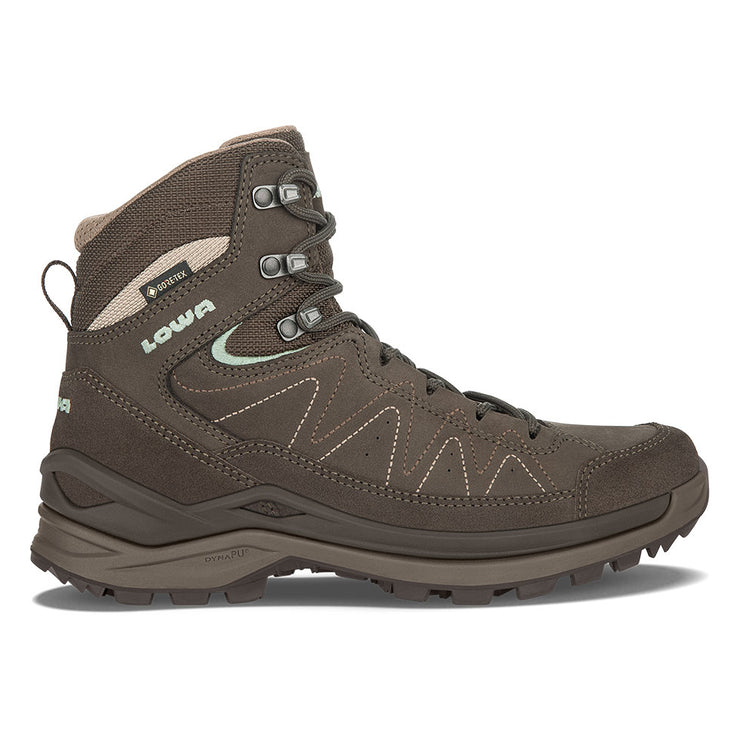Lowa Toro Evo GTX Mid Women's- Slate/Jade - Baker's Boots and Clothing