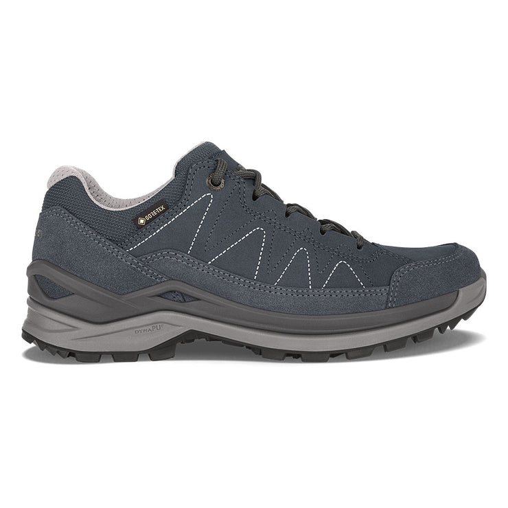 Lowa Toro Evo GTX Lo Women's- Navy/Gray - Baker's Boots and Clothing