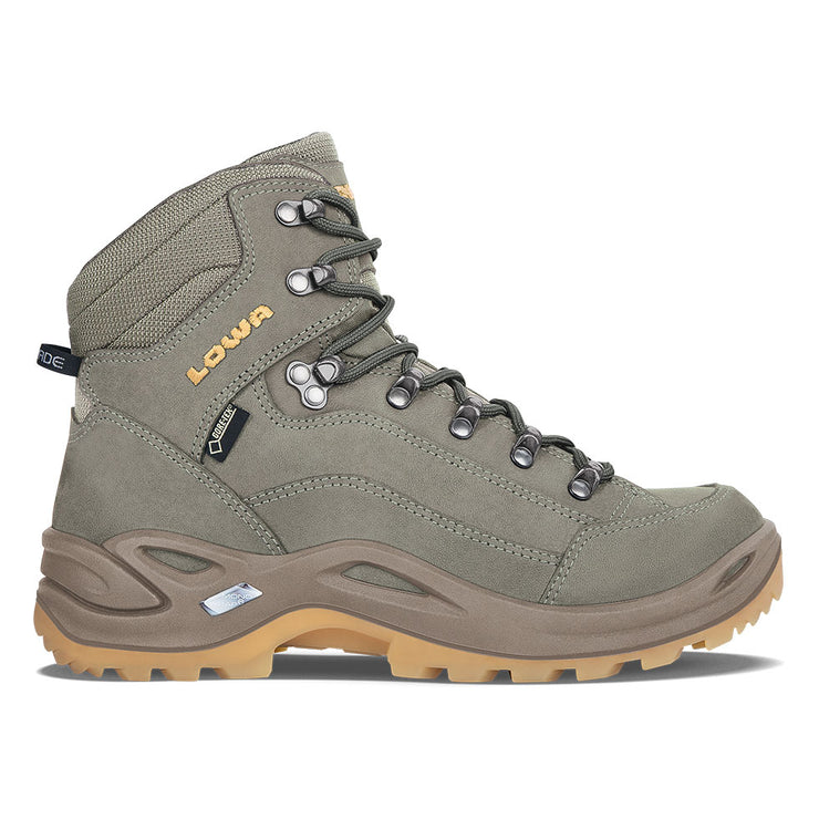 Lowa Renegade GTX Mid Women's- Reed/Honey - Baker's Boots and Clothing