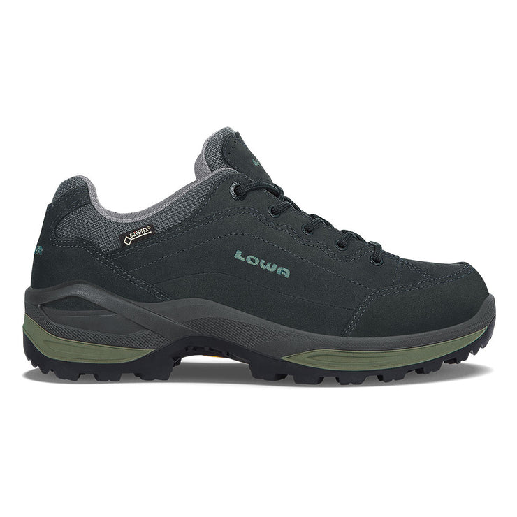 Lowa Renegade GTX Lo Women's- Graphite/Jade - Baker's Boots and Clothing