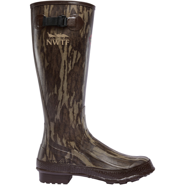 "LaCrosse Grange 18"" NWTF Mossy Oak Original Bottomland - Baker's Boots and Clothing"