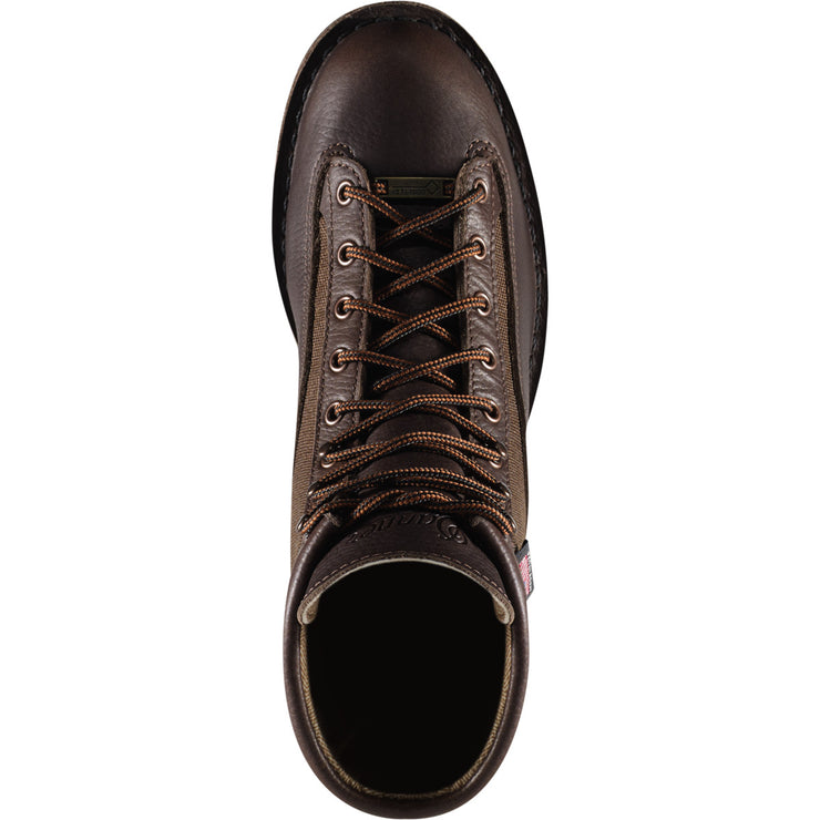 "Danner Light II 6"" Dark Brown - Baker's Boots and Clothing"
