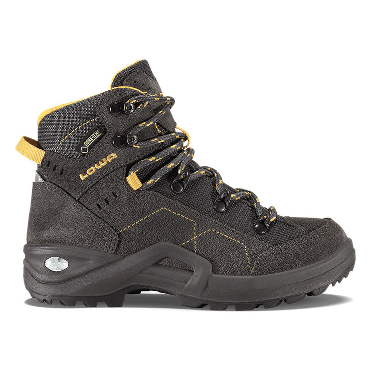 Lowa Kody III GTX Junior - Anthracite & Yellow - Baker's Boots and Clothing