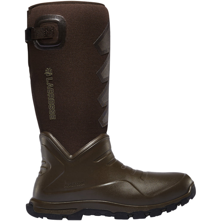 "LaCrosse AeroHead Sport 16"" Brown 7.0MM - Baker's Boots and Clothing"