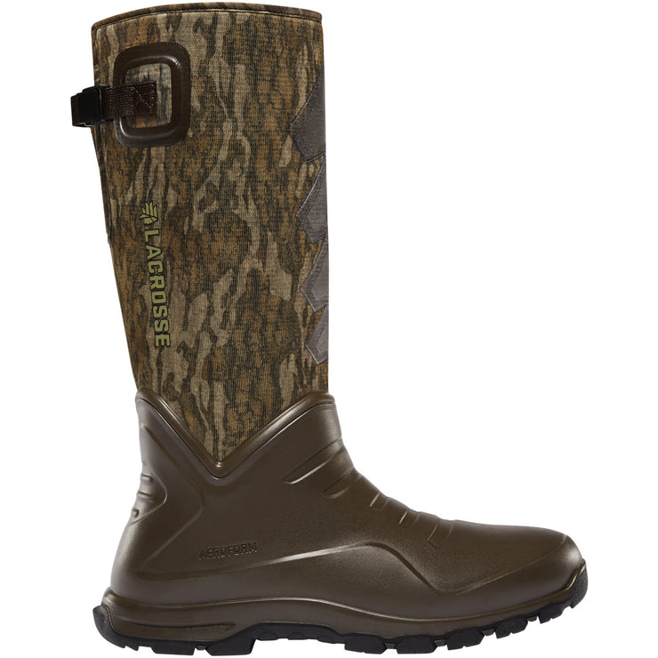 "LaCrosse AeroHead Sport 16"" Mossy Oak Bottomland 7.0MM - Baker's Boots and Clothing"