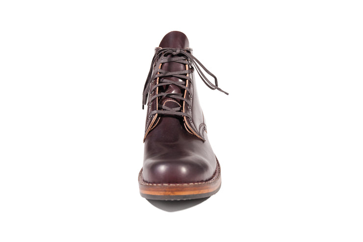 Standard Semi-Dress Burgundy Shell Cordovan By White's Boots - Baker's Boots and Clothing