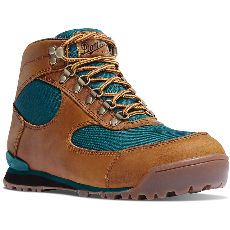 Danner Women's Jag Distressed Brown/Deep Teal - Baker's Boots and Clothing