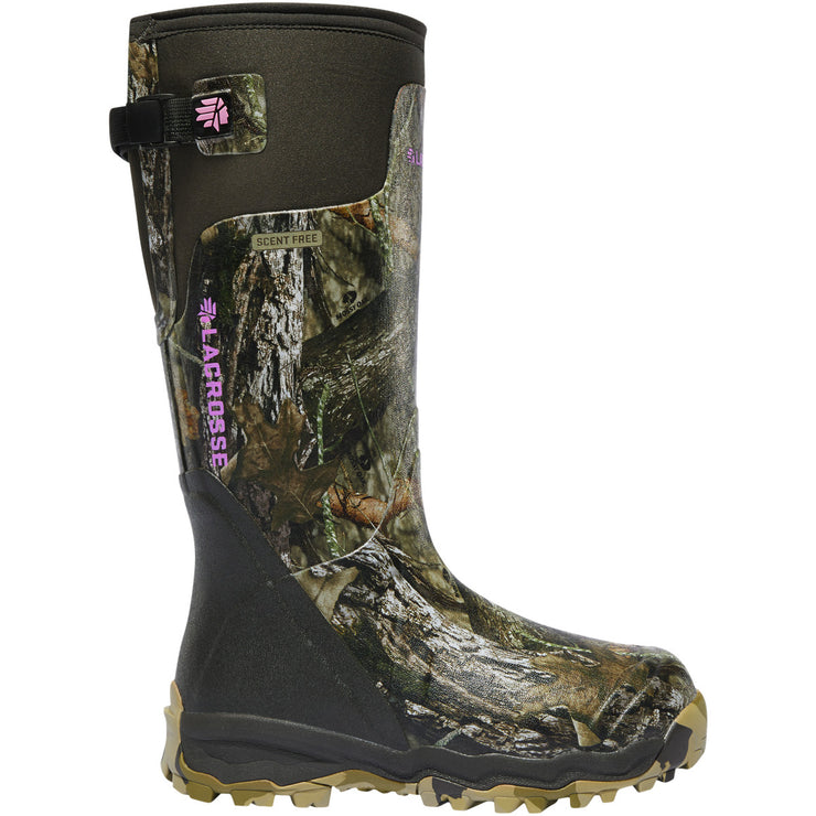 "LaCrosse Women's Alphaburly Pro 15"" Mossy Oak Break-Up Country - Baker's Boots and Clothing"