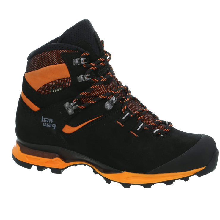Hanwag - Tatra Light GTX - Black/Orange - Baker's Boots and Clothing