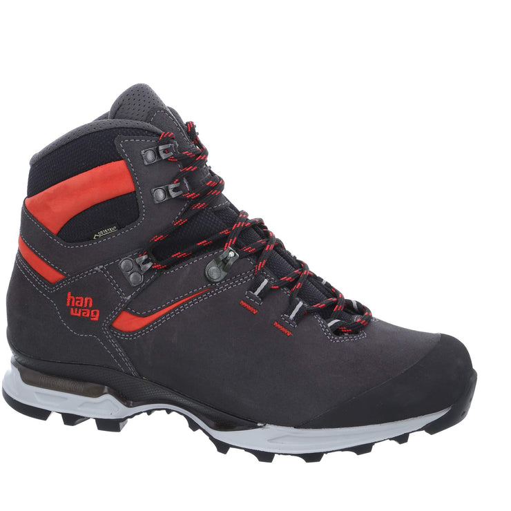 Hanwag - Tatra Light GTX - Asphalt/Red - Baker's Boots and Clothing
