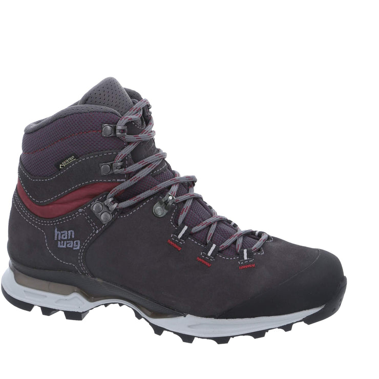 Hanwag - Tatra Light Bunion Lady GTX - Asphal/Dark Garnet - Baker's Boots and Clothing