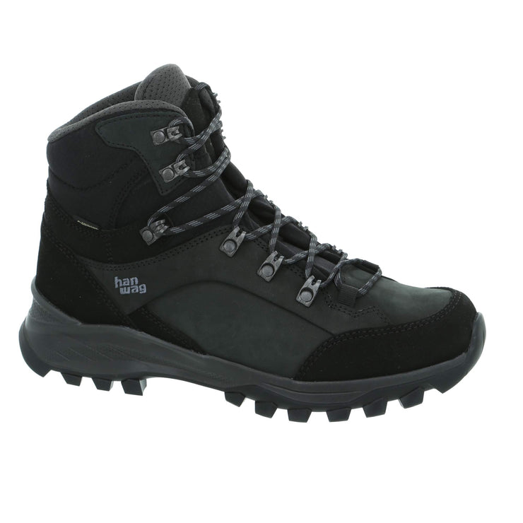 Hanwag - Banks GTX - Black/Asphalt - Baker's Boots and Clothing