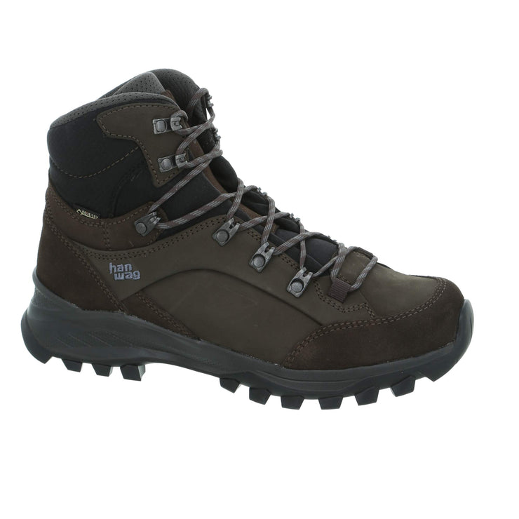Hanwag - Banks GTX - Mocca/Asphalt - Baker's Boots and Clothing