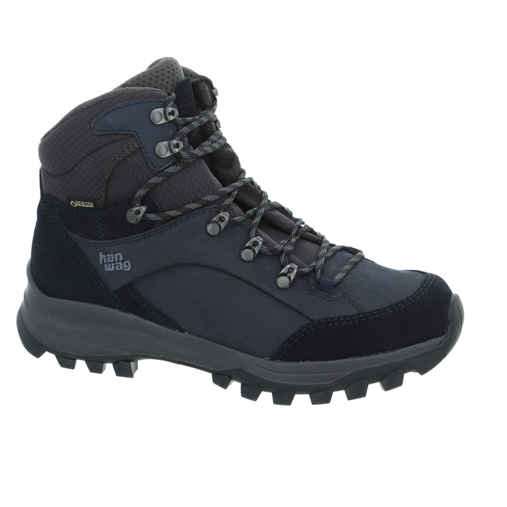 Hanwag - Banks Lady GTX - Navy/Asphalt - Baker's Boots and Clothing